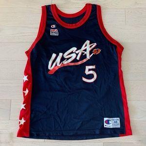 Champion Grant Hill Team USA Olympic basketball
